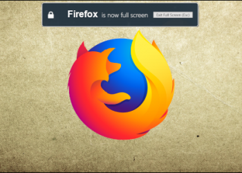 How to Disable Firefox's Fullscreen Warning Message